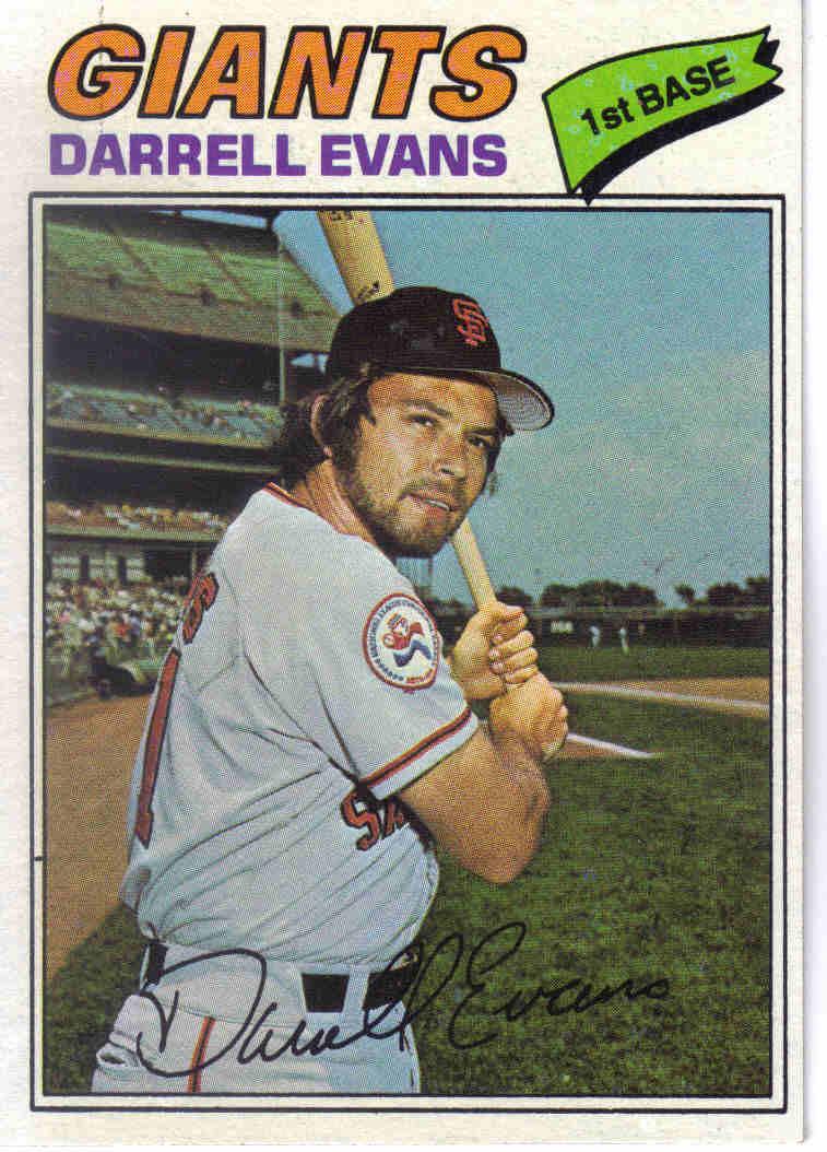 Baseball 1977 1977 Topps Baseball 571 Darrell Evans