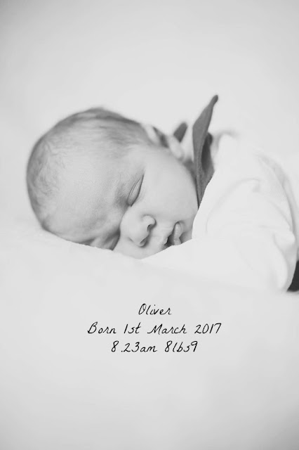 Introducing Oliver & his positive birth story
