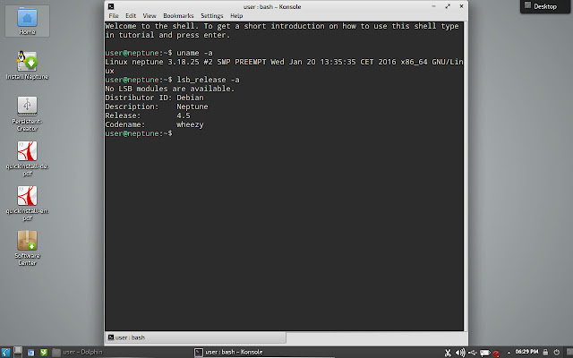 Konsole Terminal emulator