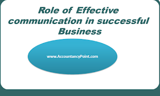Role of Effective Business Communication