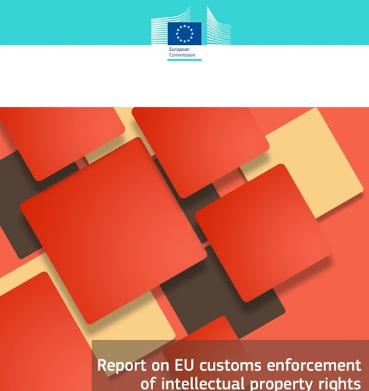 Increase in number of counterfeit goods seized by customs authorities in the EU in 2015
