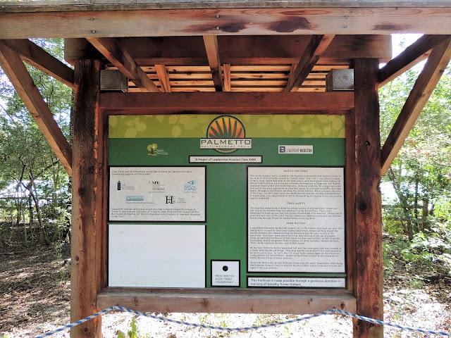 Palmetto Multi-sensory Trail Explained