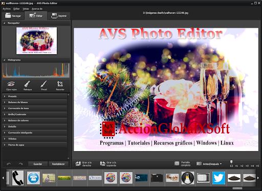 Una buena opción para editar, mejorar, recortar, añadir efectos, marcas de agua y texto a tus imágenes