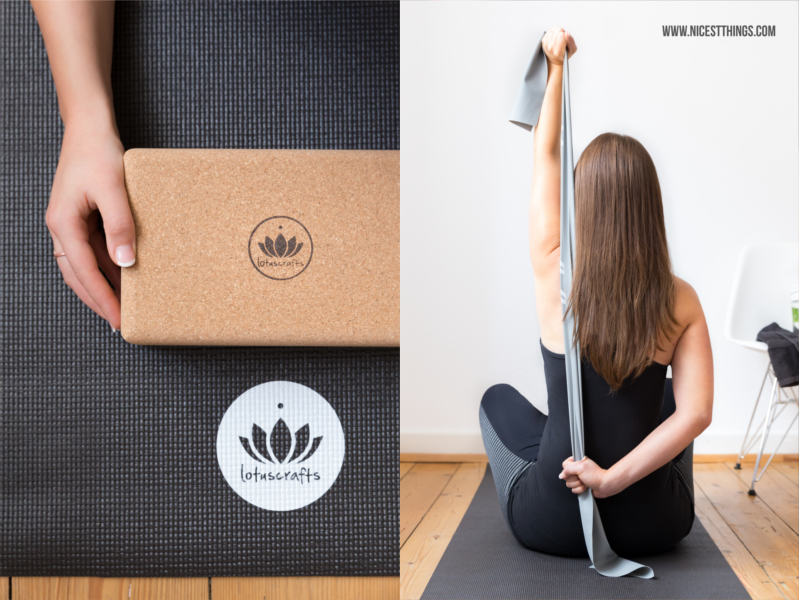 Lotuscrafts Yoga Korkblock