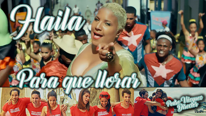 Haila María Mompié - ¨Para que llorar¨ - Videoclip - Dirección: Pedro Vázquez. Portal Del Vídeo Clip Cubano - 01