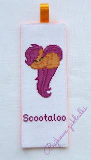 Zakładka do książki Scootaloo – Scootaloo bookmark