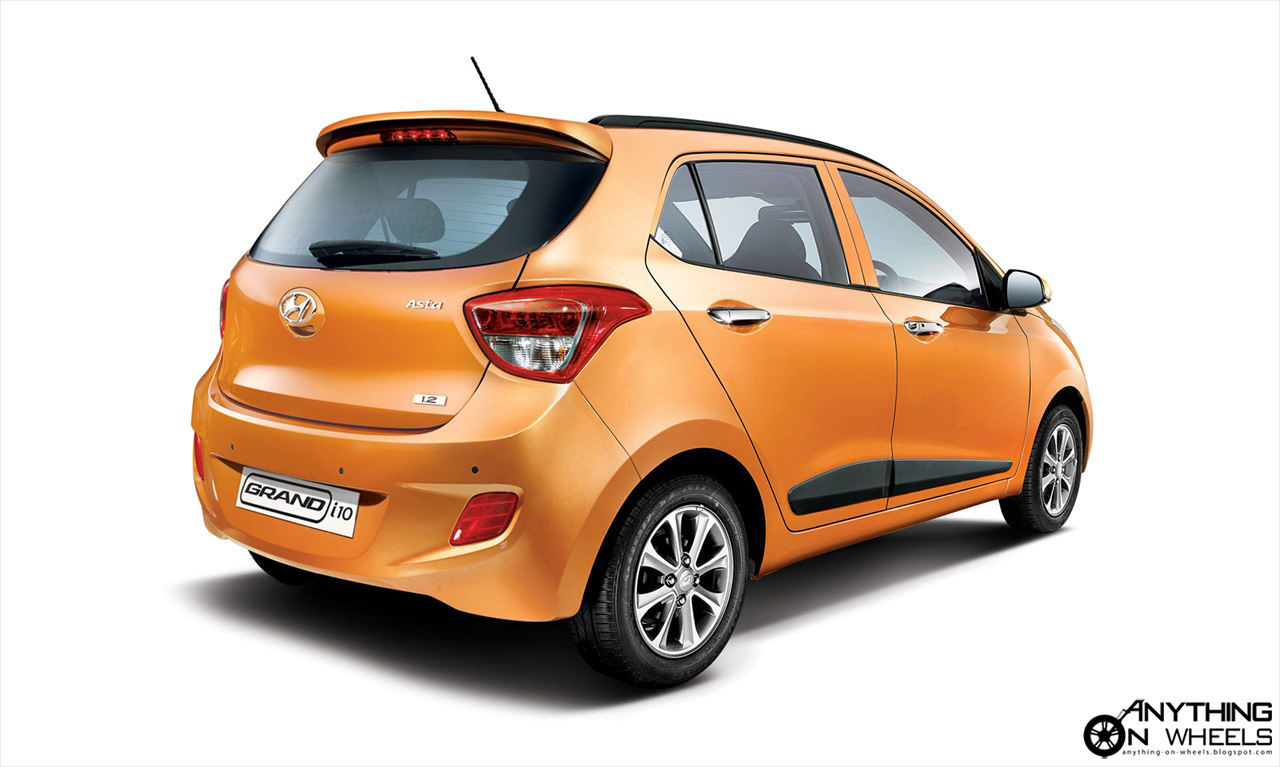 Anything On Wheels Hyundai Launches The Grand I10 In India Slots It