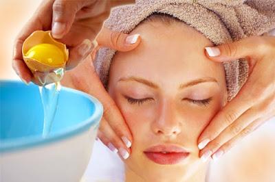 manfaat telur untuk menghaluskan kulit wajah