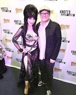 Elvira with Drew Carey