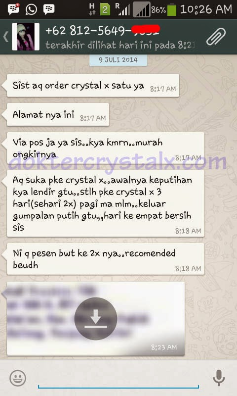 testi / testimonial Crystal X 2
