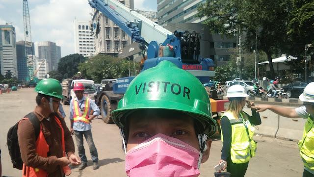 Melihat Langsung Proyek MRT Jakarta