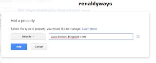 Cara Mendaftarkan Blog Pada Google Webmaster Tools