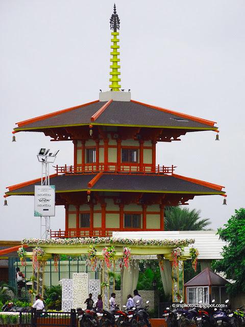 Japanese Garden at Eco Tourism Park, Kolkata