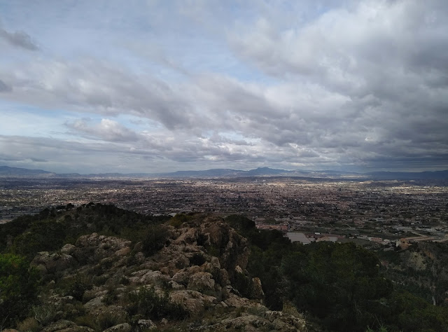 View from El Valle natural park in Murcia