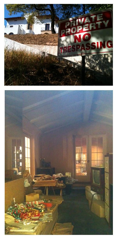 casa abandonada en Los Angeles