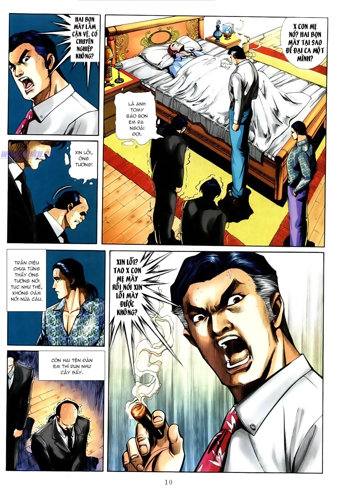 Người Trong Giang Hồ chapter 556: làm khó nam đẹp trai trang 4