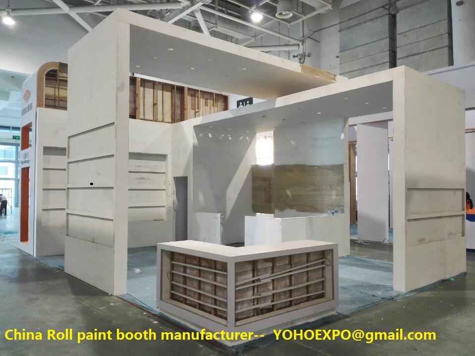 Exhibition Booth Manufacturer China : Yoho expo booth contractor in china : china spray booth spray booth