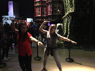Harry Potter studio tour Leavesden Wand combat