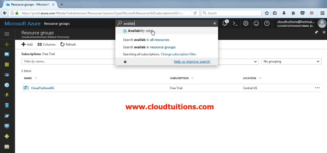 Step by Step Install Procedure Microsoft Windows Azure Cloud Infrastructure using Azure Resource Manager ARM.