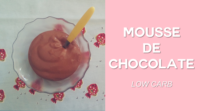 Ep. 2: Mousse de Chocolate (low carb)