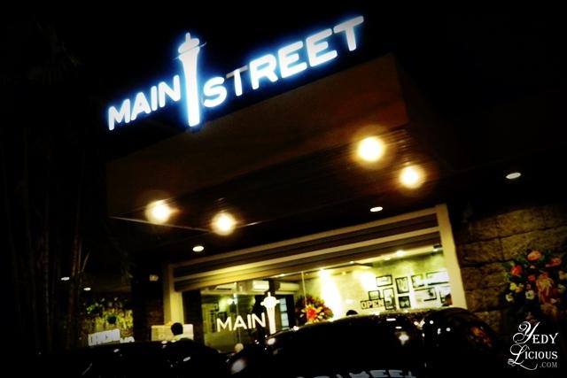 Main Street Kapitolyo, Pasig City. Main Street Restaurant New Branch in Kapitolyo Blog Review New Menu, Main Street McKinley, Kapitolyo Food Trip Main Street Website Facebook Instagram Twitter YedyLicious Manila Food Blog