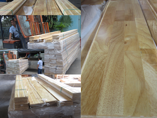 Sàn gỗ cao su - FJL
