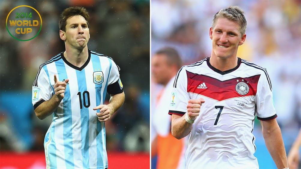 Messi vs Alemania