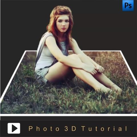 Tutorial edit foto efek 3 dimensi