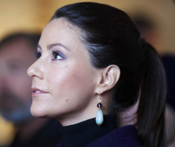 Princess Marie took part in the celebration of the 40th anniversary of the adoption of the World Heritage Convention at Kronborg Castle