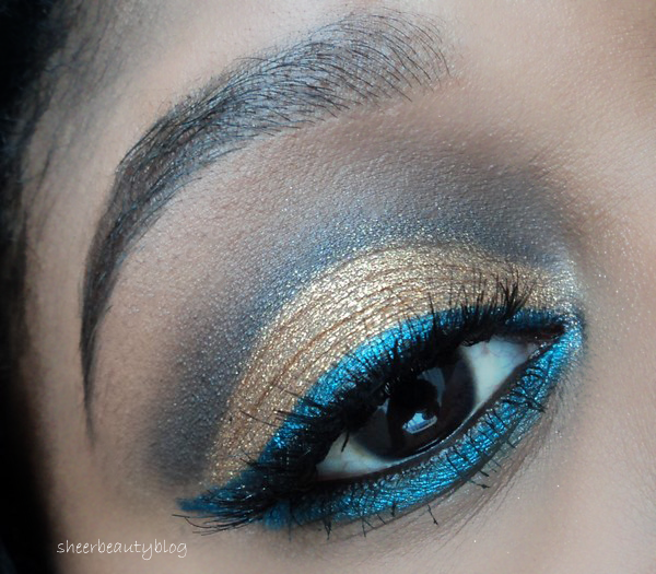 kat graham inspired makeup look