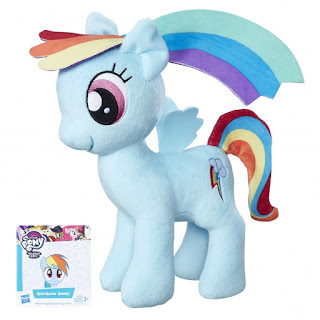 2016 Pony Plushies Official Hasbro mlp Rainbow Dash