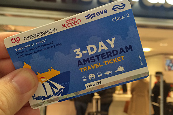 Passes de trem na Holanda