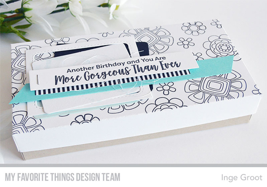 Handmade project by Inge Groot featuring products from My Favorite Things #mftstamps