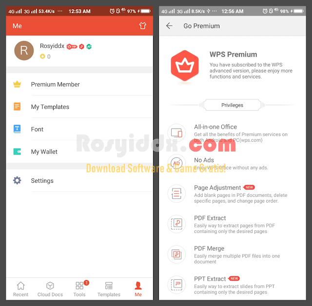 WPS Office Premium Android APK Gratis Terbaru