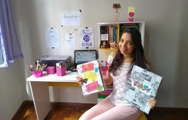 Entrevista sobre lettering para o jornal A Gazeta - Tamaravilhosamente