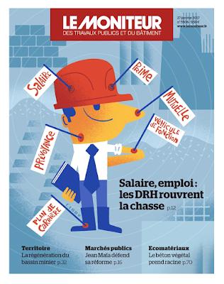 Clod illustration couverture le Moniteur du 27 janvier 2017