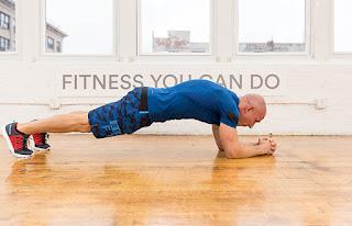 Cara Membentuk Perut Sixpack dengan Latihan Plank
