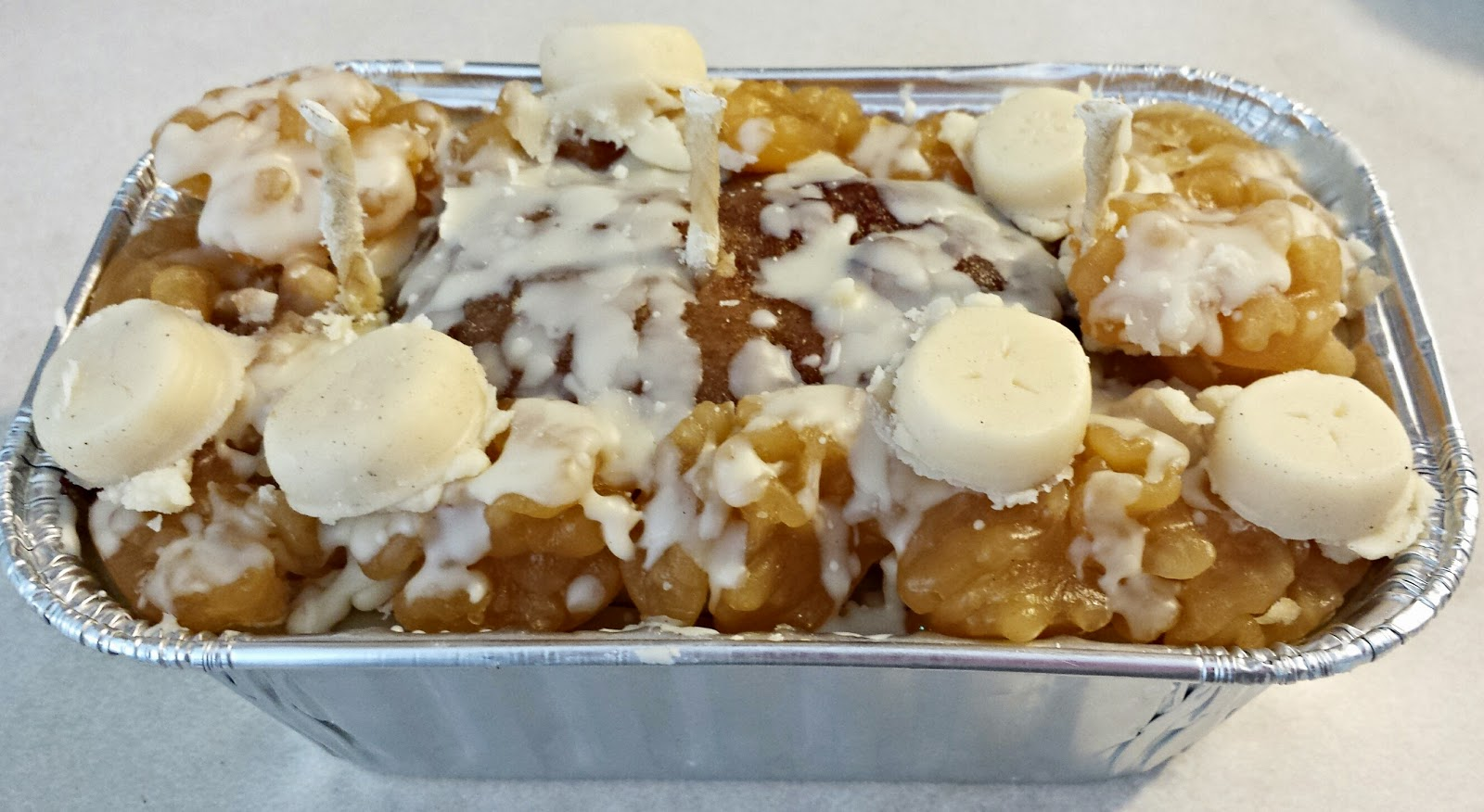 Banana Nut Bread Loaf Candle