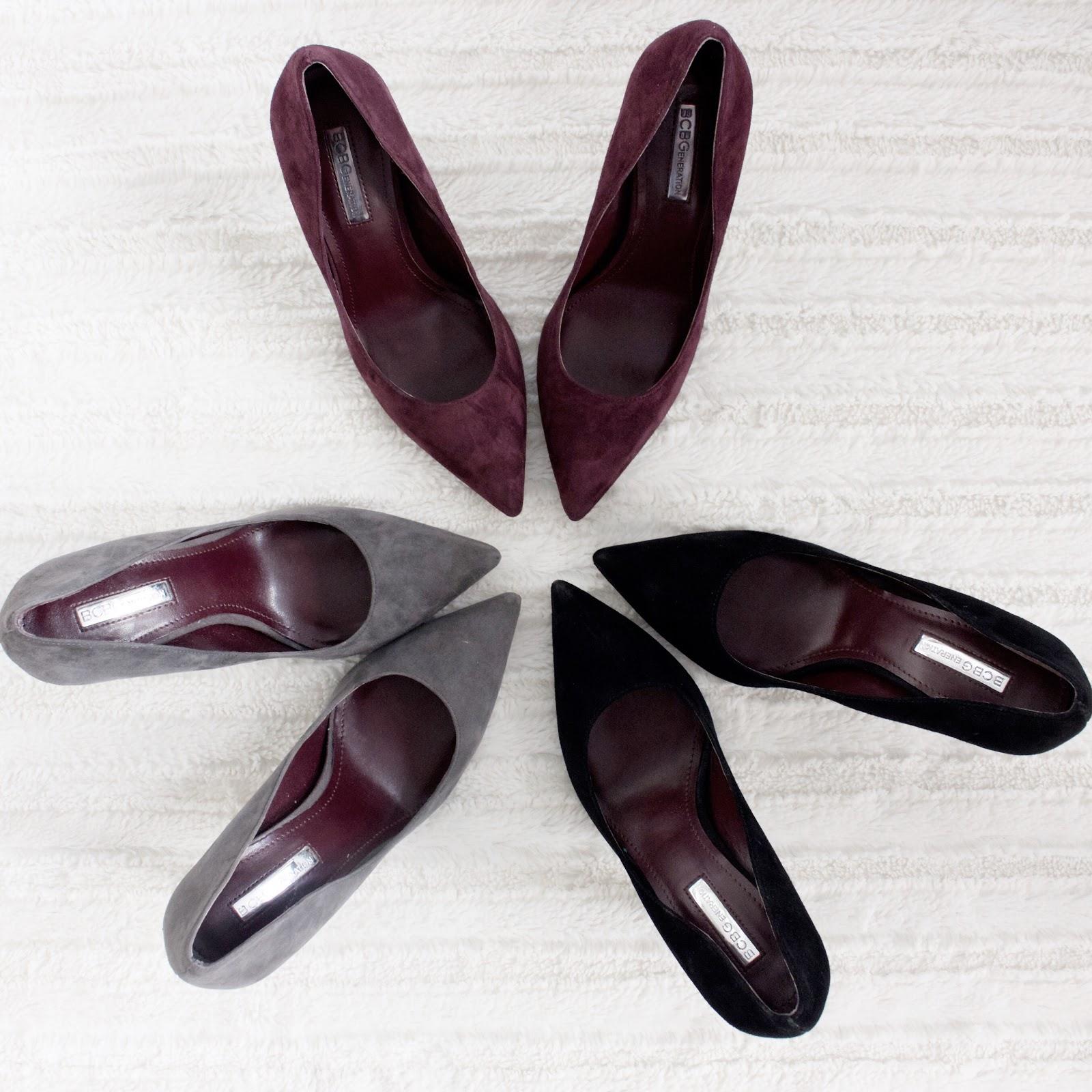 revolve suede heels