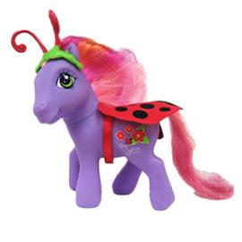 My Little Pony Lovely Ladybug Halloween Ponies G3 Pony