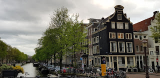 Amsterdam balade le long des canaux