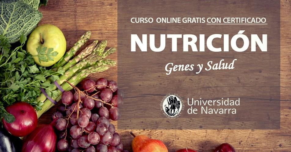 Curso gratis nutrici n genes y salud con certificado for Curso de interiorismo gratis