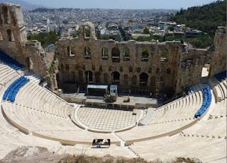 Acrópolis de Atenas, Odeón de Herodes Ático.