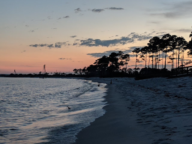 Oak Grove Campground at the Naval Air Station in Pensacola, Florida. Home of the Blue Angels