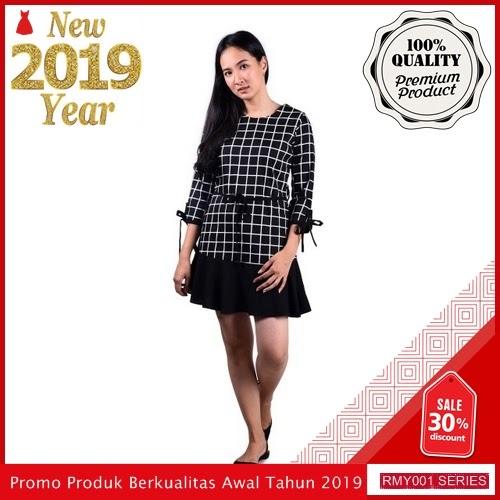 RMY064J38 Jeje Casual Dress Kotak Keren Tangan 7 BMGShop