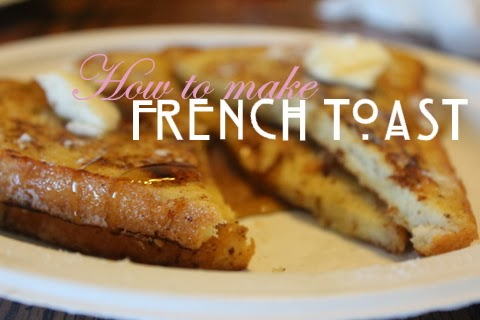 Cook French Toast for breakfast or even dessert