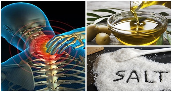 Want To Get Rid Of Pain? Mix Salt And Olive Oil And Say Goodbye To Pain For 5 Years!