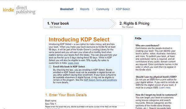 Cara Menerbitkan Buku Di Kindle Amazon