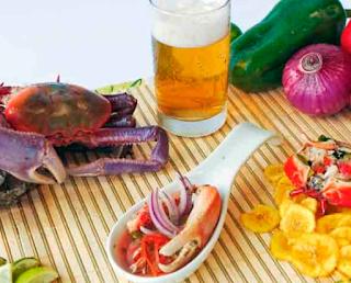 Cocina Ecuatoriana - Ceviche de cangrejo