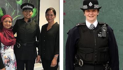 Polisi wanita di Inggris bisa kenakan jilbab
